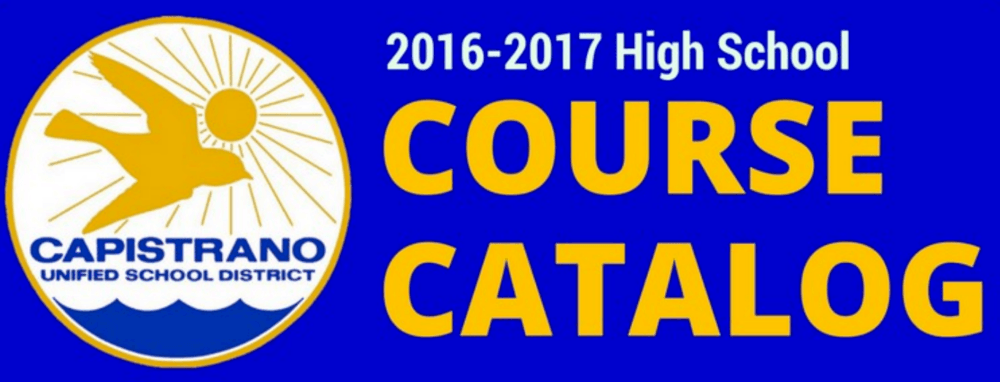 High School Course Catalog