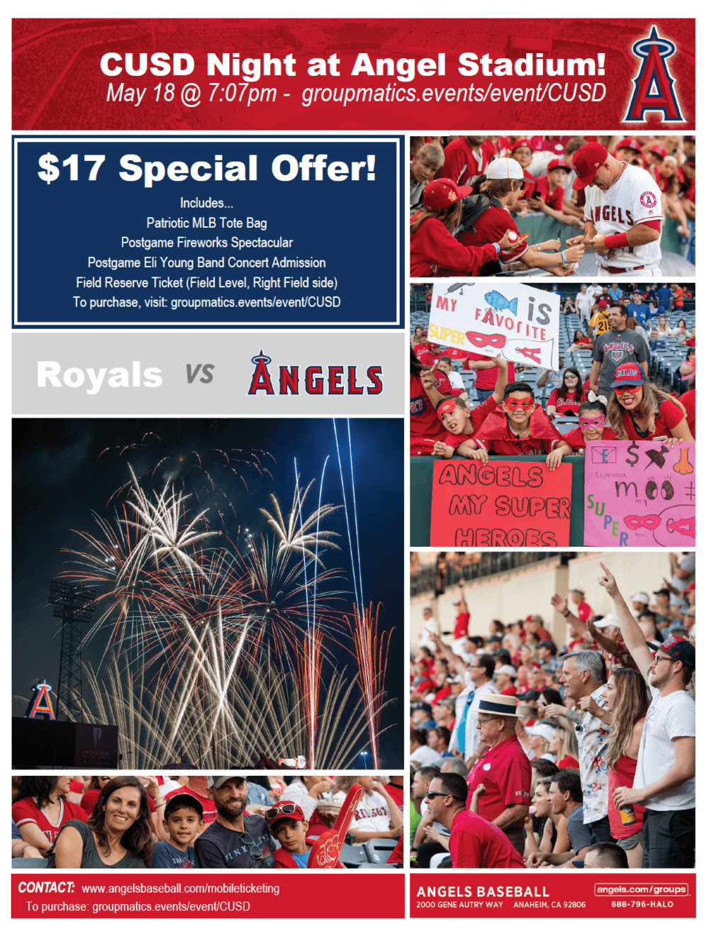 CUSD angels Night Flyer