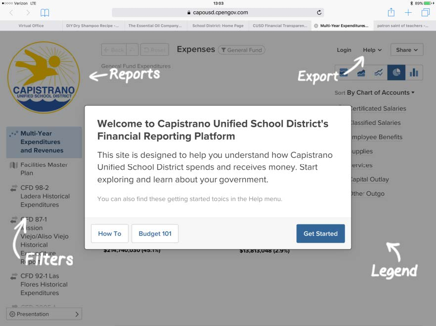 CUSD Financial Transparency Portal