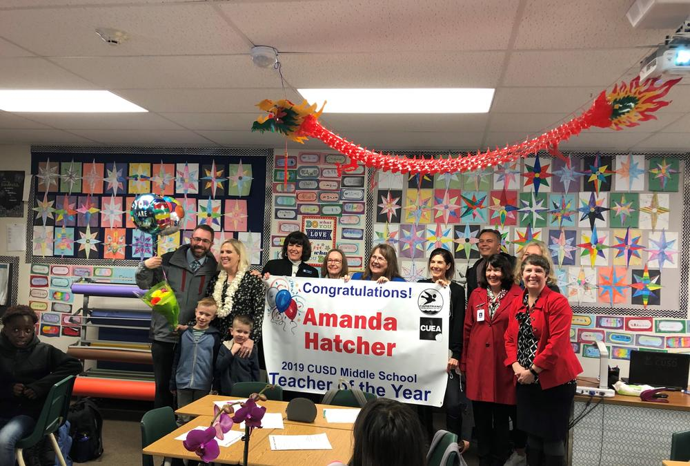 2019 Teachers of the Year