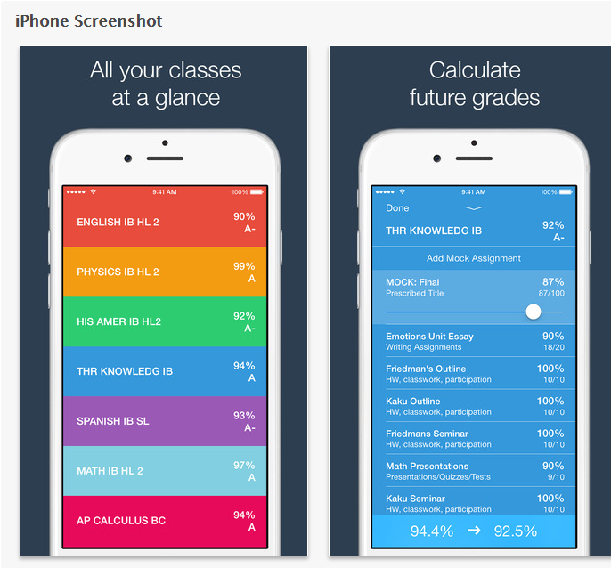 Grades for Parents and Students on the App Store2