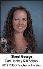 Sherri George 2012 District TOY